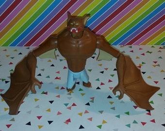 Vintage 1993 Batman The Animated Series - Loose Manbat Figure