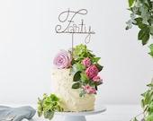 40th anniversary, 50th anniversary, golden anniversary, silver anniversary, wedding anniversary, copper cake topper, ruby anniversary