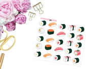 Sushi -- Matte Planner Icons