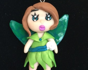 Fairy in polymer clay