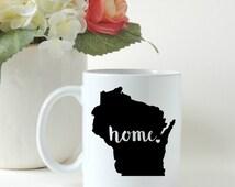 Custom Home State Coffee Mug. Gift Mug. State Mug. Personalized Mug. Wedding Gift. Shower Gift.