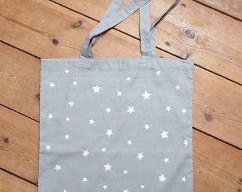 Handprinted Star Bag