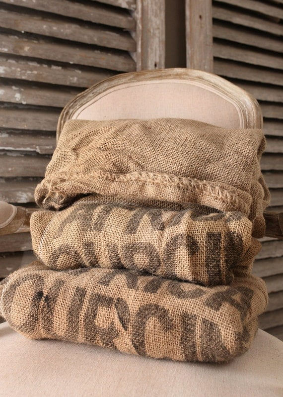 Burlap wedding decor wedding decorations wedding Burlap bag decorating ideas