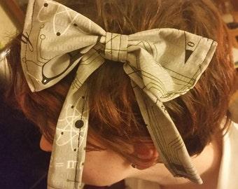 Geeky hair bow