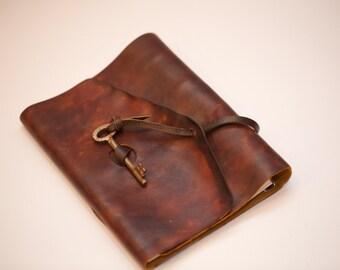 Leather Journal | Handmade Leather Binder | A5 binder