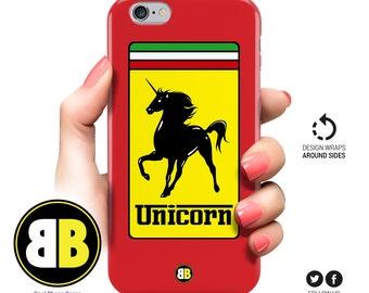 iPhone 6 Case Unicorn, iPhone 6s, iPhone 6 Plus, iPhone 5 Case, iPhone 5s, iPhone 5c, Samsung Galaxy S6 Ferrari, S5, S4, S3, Cool Phone Case
