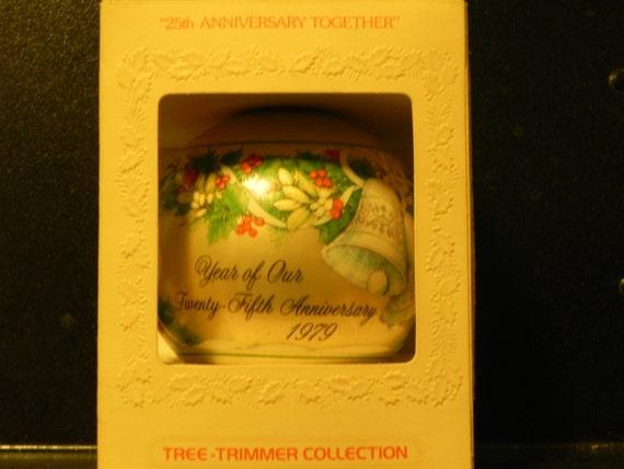 Hallmark Wedding Anniversary Gifts: Vintage Hallmark 1979 25th Wedding Anniversary