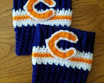 Chicago Bears boot cuffs