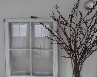 Vintage Wooden Old Window 4 Pane