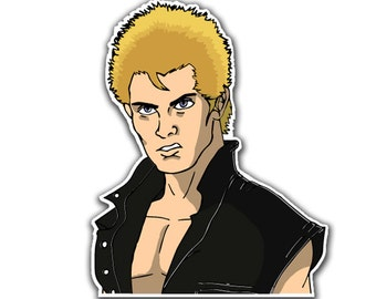 Billy Idol Sticker - Idolize