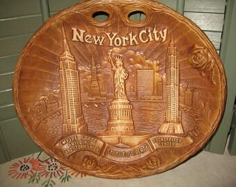 Plate souvenir New York City arrow novelty Co