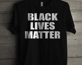 Men's Black Lives Matter Shirt Handmade Civil Rights T-shirt #1021 By Expression Tees Trending Clothing / Apparel Usa Seller