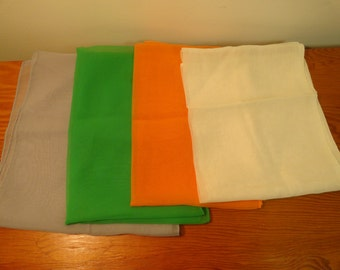 Set of 4 Polyester Scarves