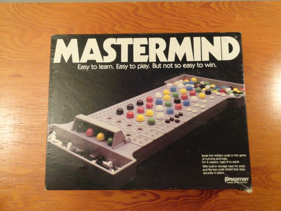 mastermind board game instructions