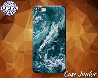 Waves Deep Blue Tumblr Ocean Sea Wavy Cute Case and iPhone 6 and 6+ and iPhone 6s and iPhone 6s Plus iPhone SE iPhone 7 Plus iPhone X and 8