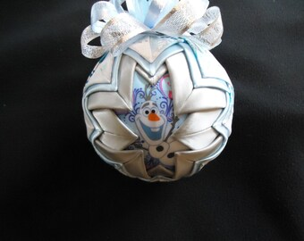 Olaf/Frozen Quilted Ornament