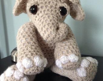 Crochet Vintage Elephant