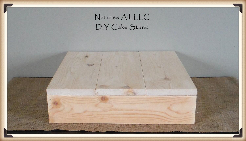 16 DIY Rustic Wedding Cake Stand Country Wedding Cake