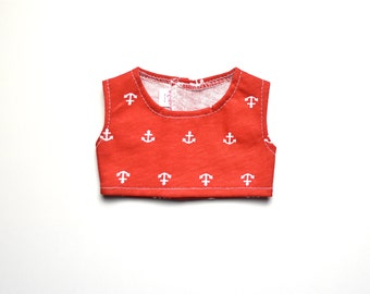 Cropped top American Handmade Girl Doll Clothes