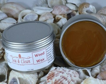 Wood Wax  / Wood Conditioning, Wood Utensils, Bamboo Wax, Wood Cleaner, Natural Cleaning, Wood Cutting Board