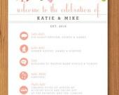 Katie & Mike // Custom Order Wedding Items