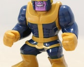 THANOS Custom Minifigure 100% LEGO Compatible! Marvel Comics Guardians of the galaxy GoG Character