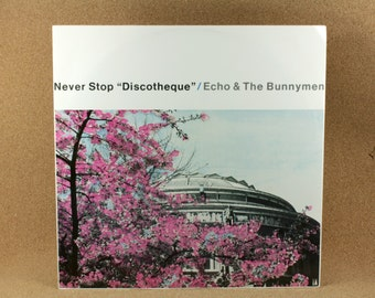 "Echo and The Bunnymen - Never Stop 'Discotheque"" Vinyl Album - Original UK Pressing - Korova Records - Near Mint Condition"