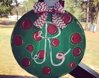 Ornament Door Hanger. Christmas Door Hanger. Christmas Decor. Ornament Door Decor. Christmas Gifts.