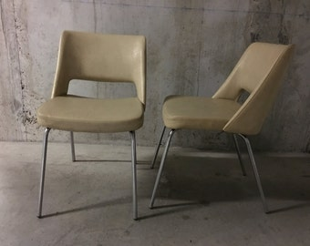 Pair of chairs 50s