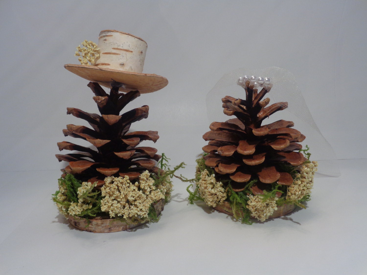 pine garden wedding cake review rustic wedding cake topper pine cone mr amp mrs pine cone cake 18527