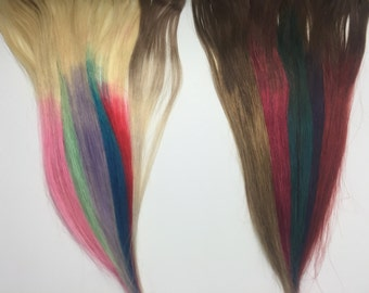 Ombre Hair Extensions- Human Hair Straight