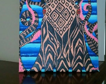 Detailed Squid painting