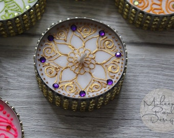 Boysenberry Purple Henna Candle