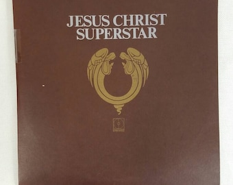 Jesus Christ Superstar Record Album By Andrew Lloyd Webber And Tim Rice-1970