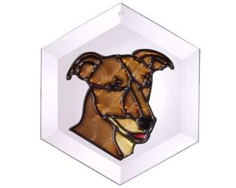 Greyhound 11 Suncatcher