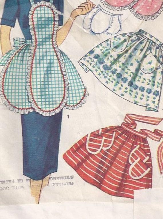 Misses 39 apron pattern patron de tablier pour jeune femme for Patron tablier vintage