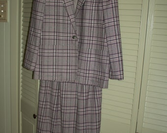 Made in USA Evan-Picone Vintage Dress Suit Size 6