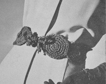 411 PDF Belt Crochet Pattern, Ladies Belt, Women's Accessories, Free Pattern Offer, Vintage 1940's, PDF Download