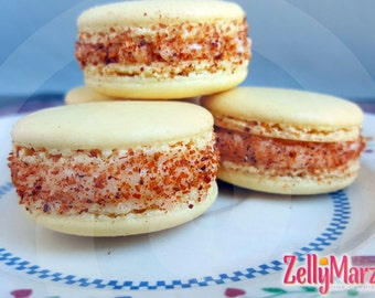 Mexican Candy French Macarons Frutas Con Chili