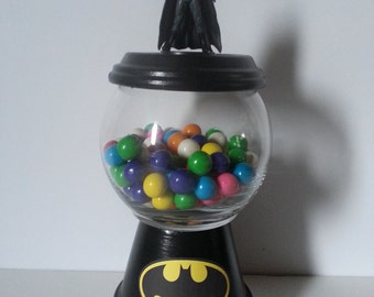 Batman Gumball Birthday/Baby Shower Centerpiece