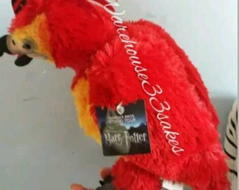 Genuine Fawkes Phoenix from Harry Potter Tour London. Dumbledore. Hogwarts. Brand New