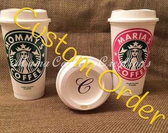 Customized Starbucks order for * tanja818*