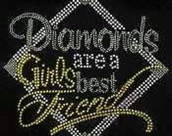 Diamonds area girls best friend