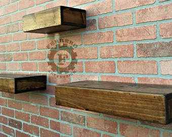 Floating Shelves, Floating Shelf, Rustic Shelf, Rustic Shelves, Rustic Decor, Wall Decor, Urban Decor, Store Shelf, Boutique Shelf