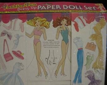 Crest Fashion  Fun Ppaer Dolls