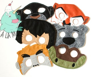 Jungle Friends Masks