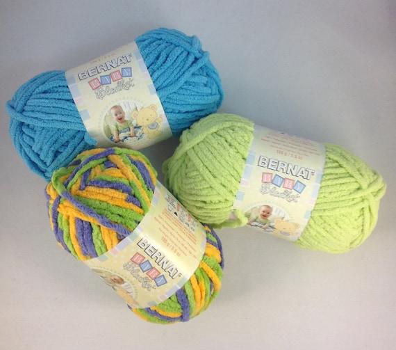 Bernat Baby Blanket Yarn 3 5 Oz Skein