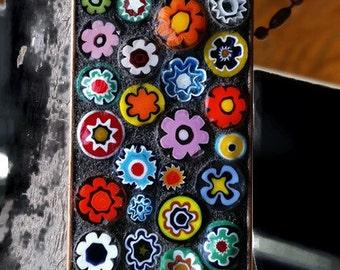 Mosaic Millefiori Pendant