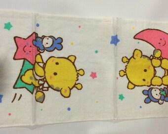 Vintage Sanrio Pau.Pipo towel made in Japan 1988