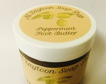 Peppermint Foot Butter
